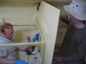 sealing baulk-heads