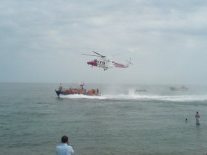 lifeboat demonstration