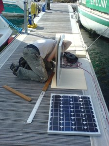 Solar power mounts