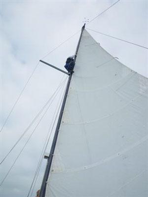 pete up mast